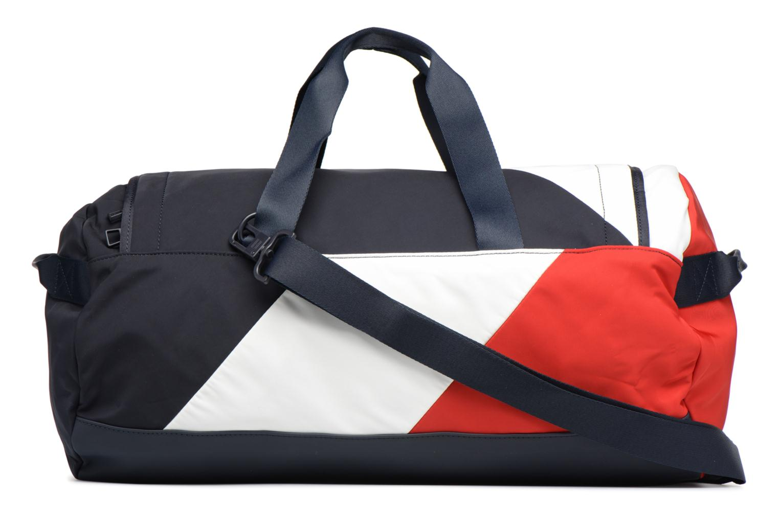 Sporttassen Tommy Hilfiger SPEED DUFFLE CORPORATE Multicolor voorkant