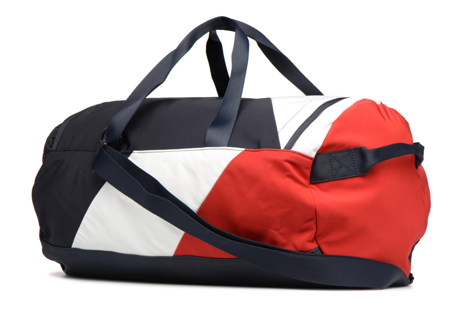 Sporttassen Tommy Hilfiger SPEED DUFFLE CORPORATE Multicolor rechts