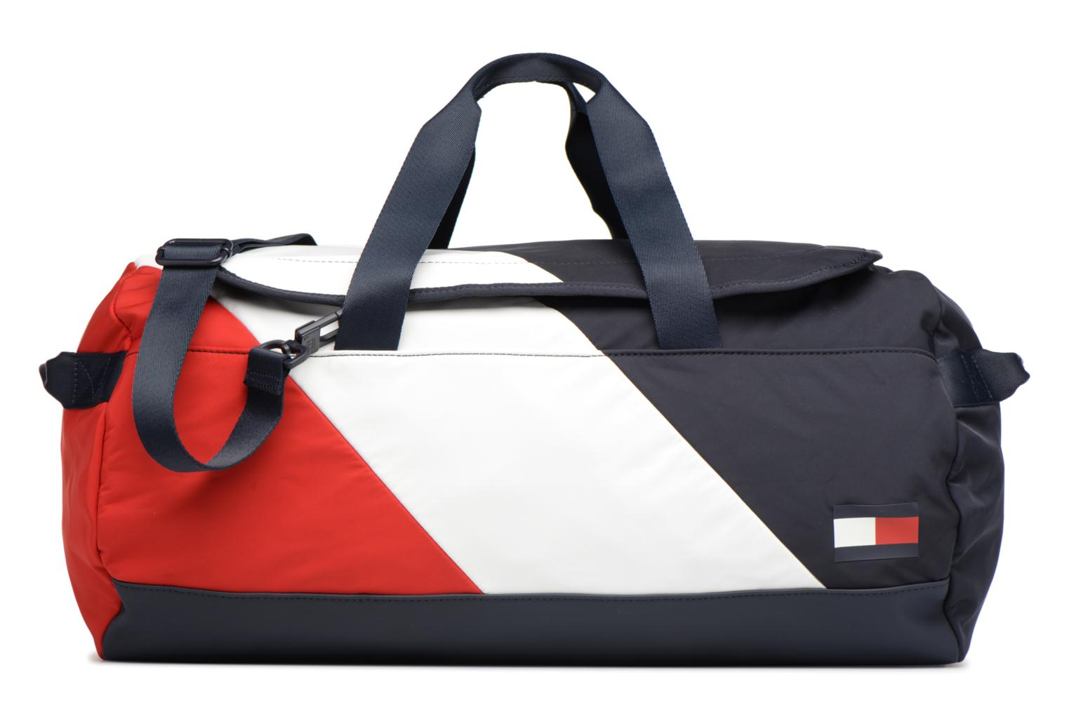 Sporttassen Tommy Hilfiger SPEED DUFFLE CORPORATE Multicolor detail