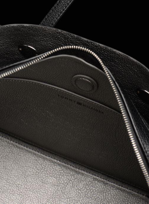 Handtaschen Tommy Hilfiger TH CORE SATCHEL schwarz ansicht von hinten