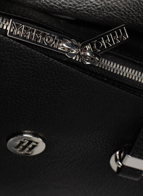 Handtaschen Tommy Hilfiger TH CORE SATCHEL schwarz ansicht von links