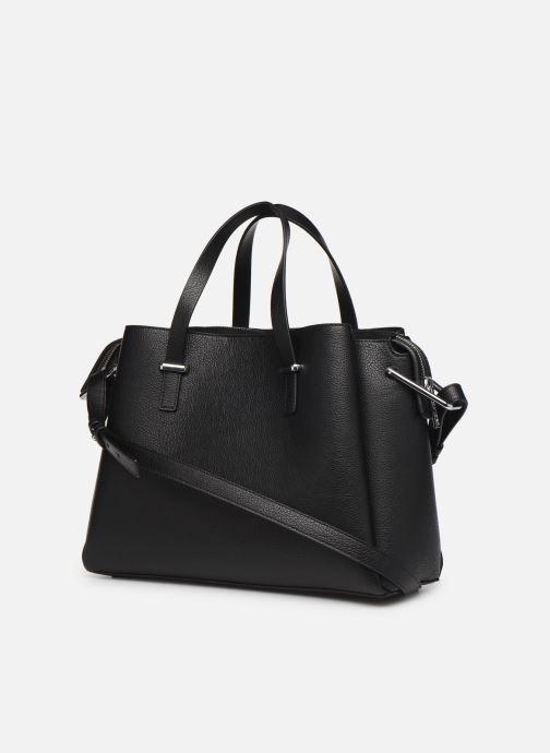 Handtaschen Tommy Hilfiger TH CORE SATCHEL schwarz ansicht von rechts