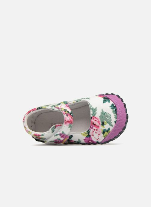 Pantuflas Pediped Louisa Multicolor vista lateral izquierda