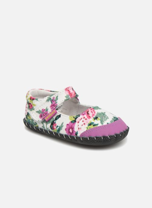 Pantuflas Pediped Louisa Multicolor vista de detalle / par