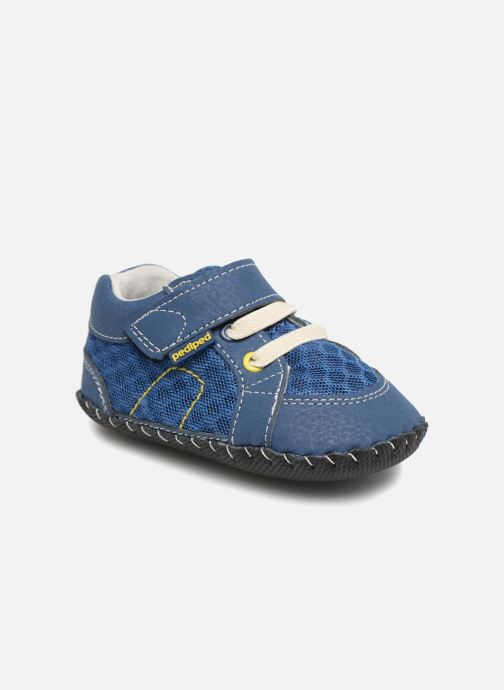 Slippers Pediped Dani Blue detailed view/ Pair view