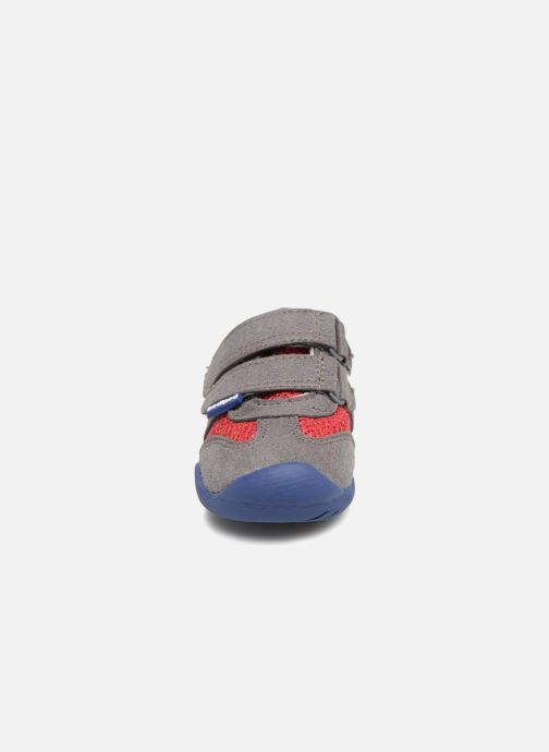 Baskets Pediped Gehrig Rouge vue portées chaussures