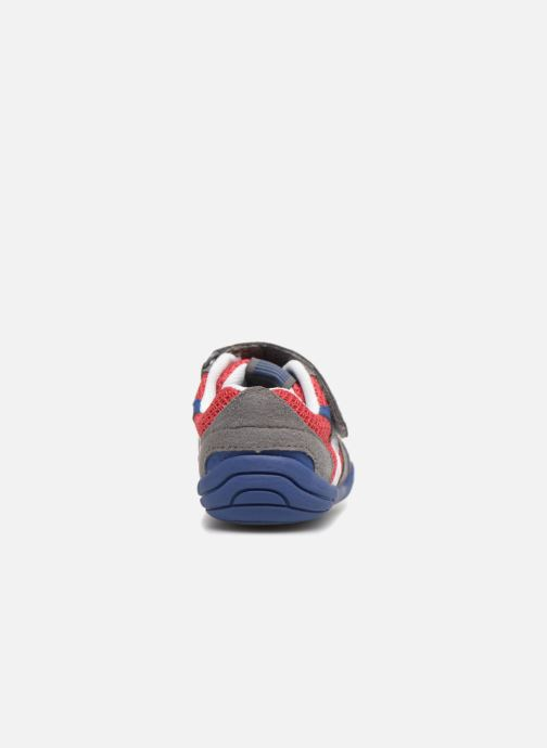 Baskets Pediped Gehrig Rouge vue droite