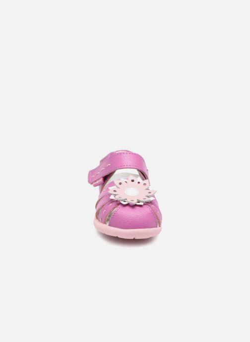 Sandales et nu-pieds Pediped Sabine Rose vue portées chaussures