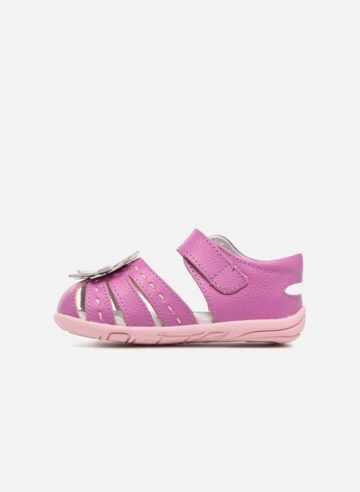 Sandales et nu-pieds Pediped Sabine Rose vue face