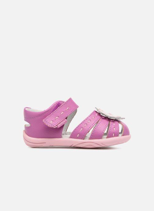 Sandales et nu-pieds Pediped Sabine Rose vue derrière