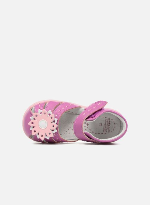Sandals Pediped Sabine Pink view from the left