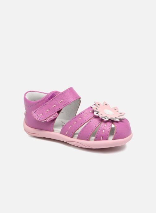 Sandals Pediped Sabine Pink detailed view/ Pair view