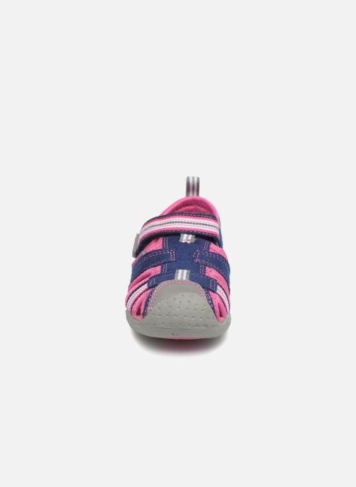 Sandales et nu-pieds Pediped Sahara Bleu vue portées chaussures