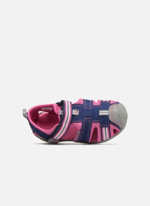 Sandales et nu-pieds Pediped Sahara Bleu vue gauche