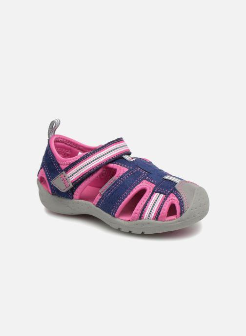 Sandales et nu-pieds Pediped Sahara Bleu vue détail/paire