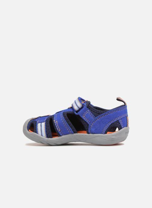 Sandales et nu-pieds Pediped Sahara Bleu vue face
