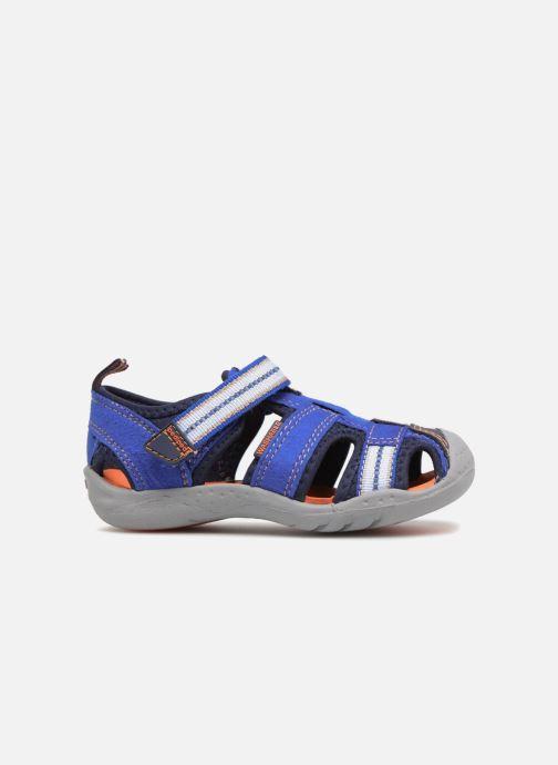 Sandales et nu-pieds Pediped Sahara Bleu vue derrière