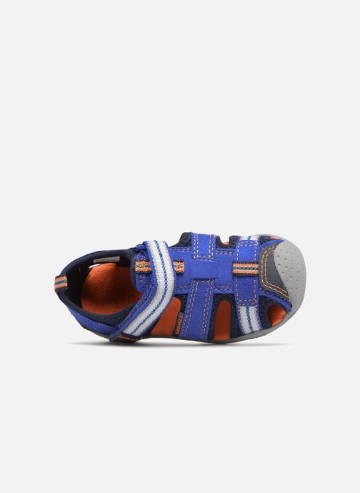 Sandals Pediped Sahara Blue view from the left