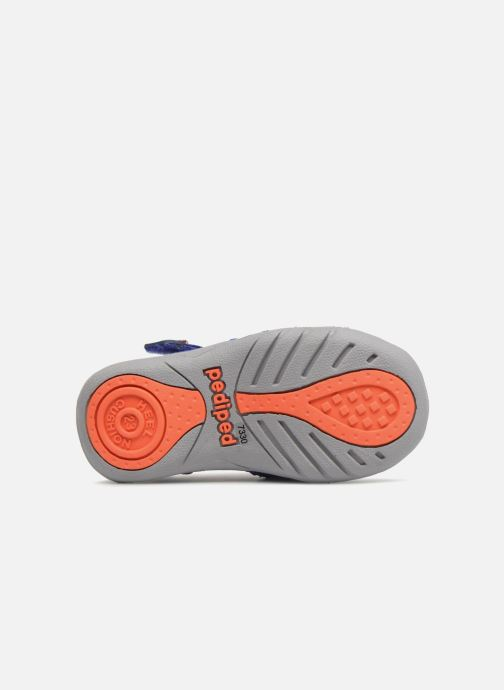 Sandales et nu-pieds Pediped Sahara Bleu vue haut