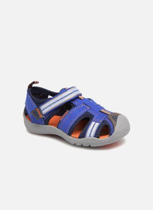 Sandals Pediped Sahara Blue detailed view/ Pair view