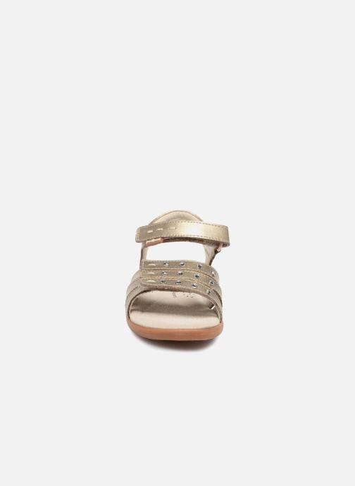 Sandales et nu-pieds Pediped Lynn Or et bronze vue portées chaussures