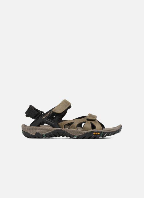 Chaussures de sport Merrell All Out Blaze Sieve Convert Marron vue derrière