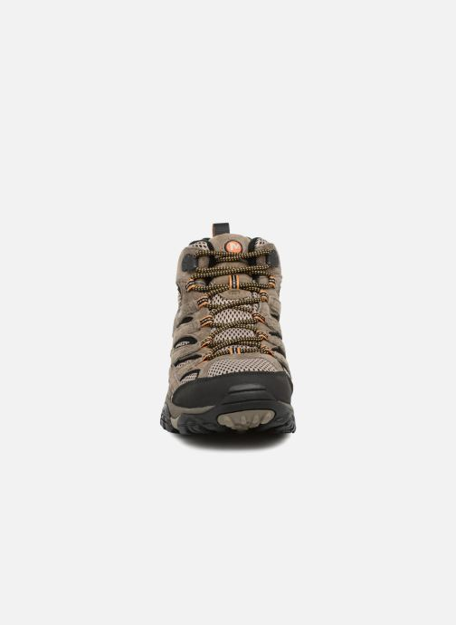 Chaussures de sport Merrell Moab 2 Ltr Mid Gtx Marron vue portées chaussures