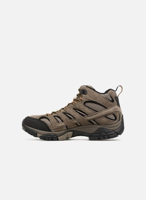 Chaussures de sport Merrell Moab 2 Ltr Mid Gtx Marron vue face