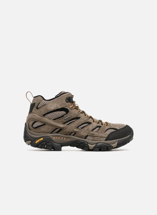 Sport shoes Merrell Moab 2 Ltr Mid Gtx Brown back view