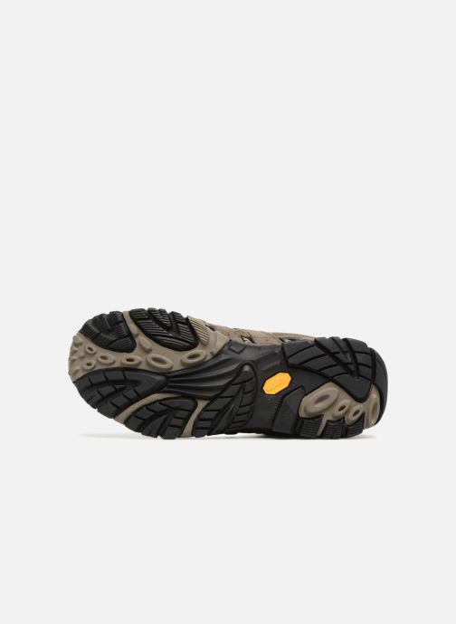 Sport shoes Merrell Moab 2 Ltr Mid Gtx Brown view from above