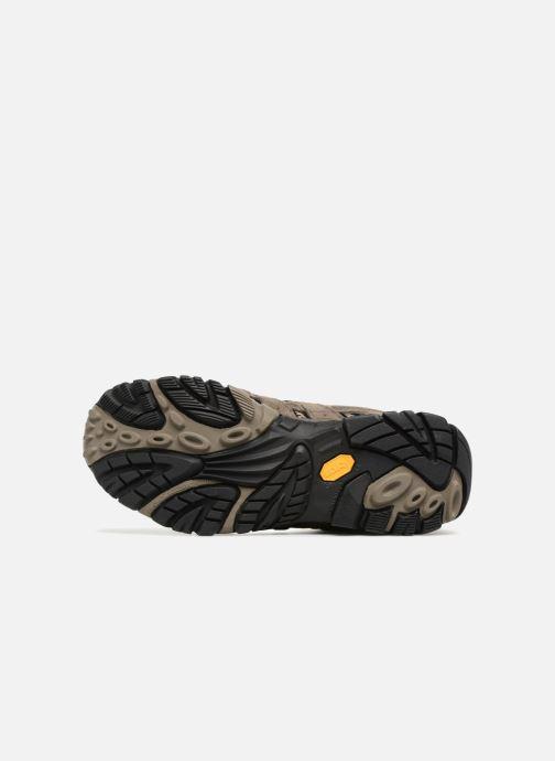 Chaussures de sport Merrell Moab 2 Ltr Mid Gtx Marron vue haut