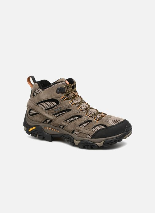 Chaussures de sport Merrell Moab 2 Ltr Mid Gtx Marron vue détail/paire