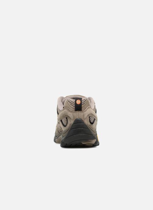 Chaussures de sport Merrell Moab 2 Vent Marron vue droite