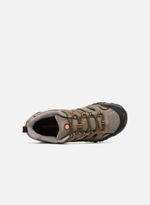 Chaussures de sport Merrell Moab 2 Vent Marron vue gauche