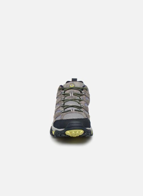 Chaussures de sport Merrell Moab 2 Vent Gris vue portées chaussures