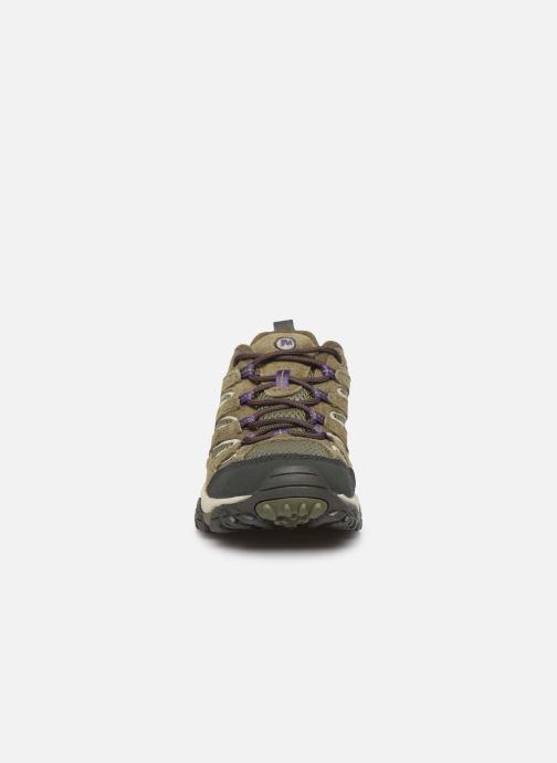 Chaussures de sport Merrell Moab 2 Vent Vert vue portées chaussures