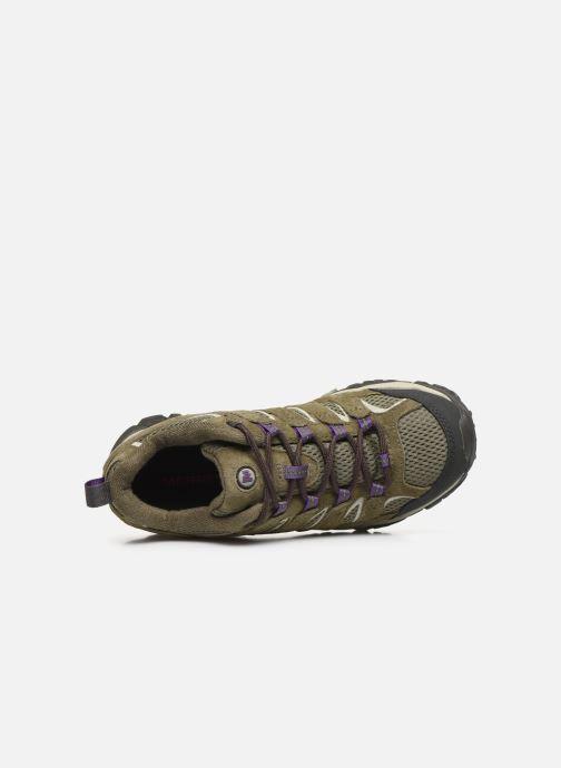 Chaussures de sport Merrell Moab 2 Vent Vert vue gauche