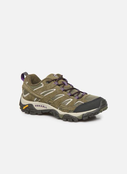 Chaussures de sport Merrell Moab 2 Vent Vert vue détail/paire
