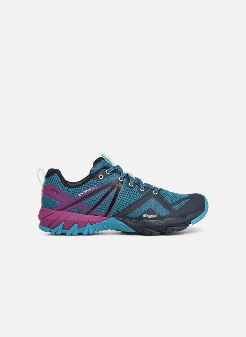 Sport shoes Merrell Mqm Flex Gtx Blue back view