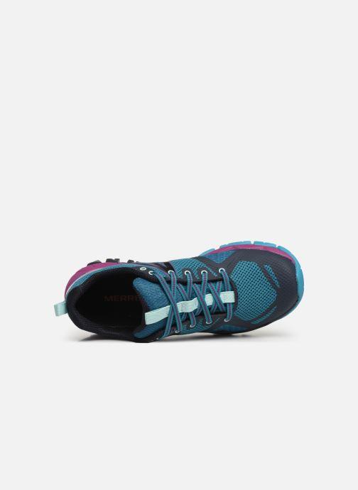 Chaussures de sport Merrell Mqm Flex Gtx Bleu vue gauche