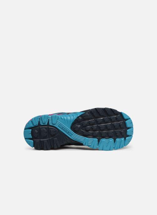 Sport shoes Merrell Mqm Flex Gtx Blue view from above