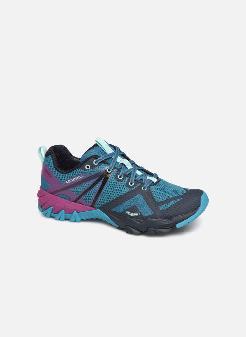 Sport shoes Merrell Mqm Flex Gtx Blue detailed view/ Pair view