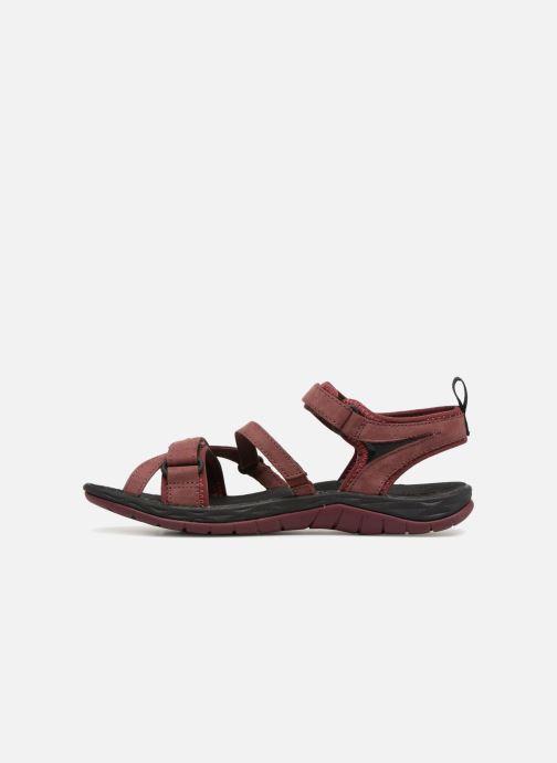 Chaussures de sport Merrell Siren Strap Q2 Rouge vue face