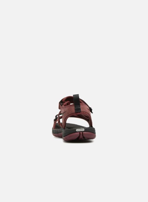 Chaussures de sport Merrell Siren Strap Q2 Rouge vue droite