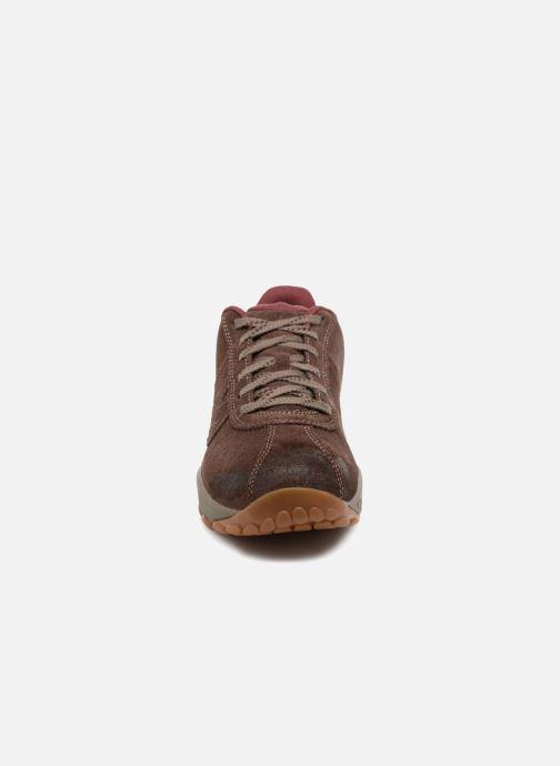 Chaussures de sport Merrell Sprint Lace Suede Ac+ Marron vue portées chaussures