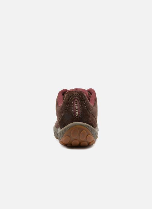 Chaussures de sport Merrell Sprint Lace Suede Ac+ Marron vue droite