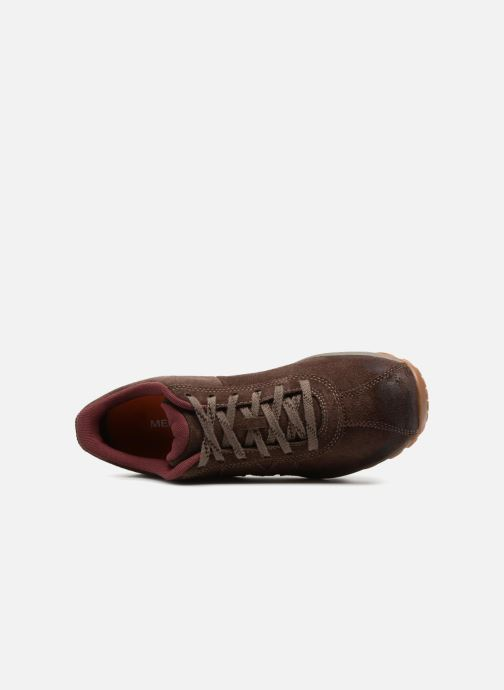 Sport shoes Merrell Sprint Lace Suede Ac+ Brown view from the left