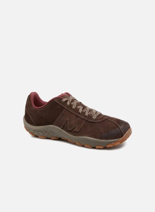 Sport shoes Merrell Sprint Lace Suede Ac+ Brown detailed view/ Pair view