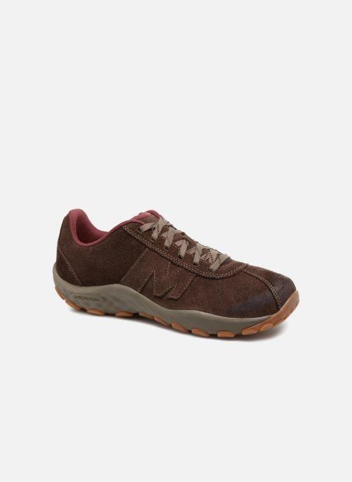 Chaussures de sport Merrell Sprint Lace Suede Ac+ Marron vue détail/paire