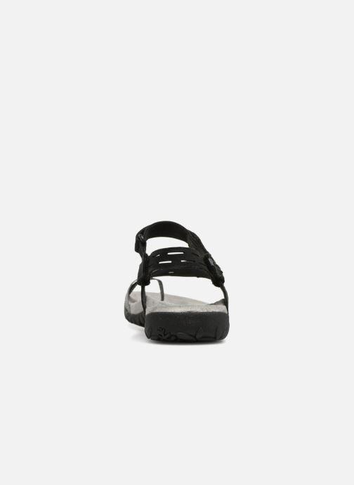 Chaussures de sport Merrell Terran Convert II Noir vue droite